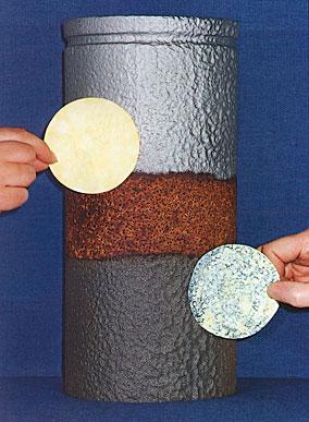Soluble ferrous salts in a steel surface