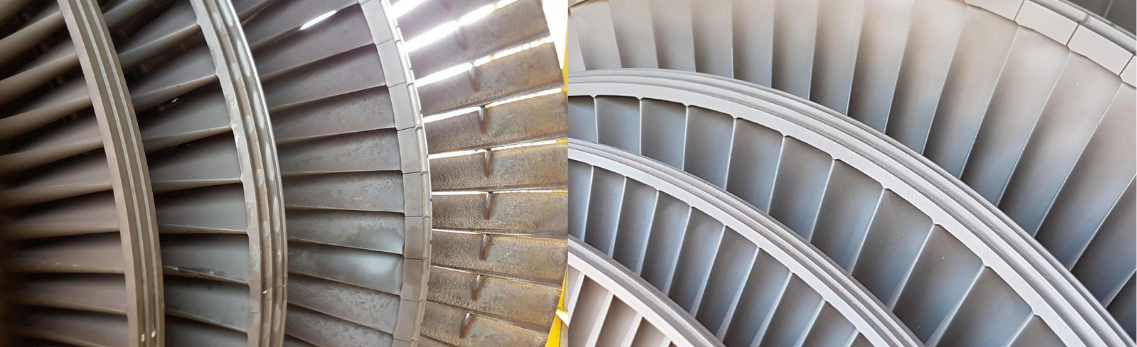 LP Rotor Before & After