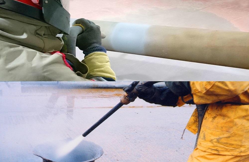 Dry Blasting vs Wet Blasting