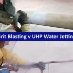 Grit Blasting v UHP Water Jetting